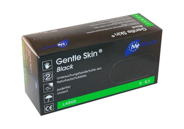 Gentle Skin® Black | 100 Stück - Größe L